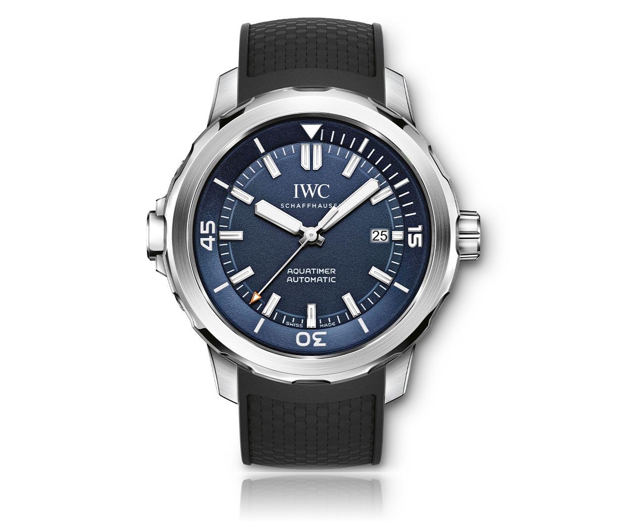 IWC Aquatimer AutomaticEditionExpeditionJacquesYvesCousteau IW329005 Flatlay FINAL
