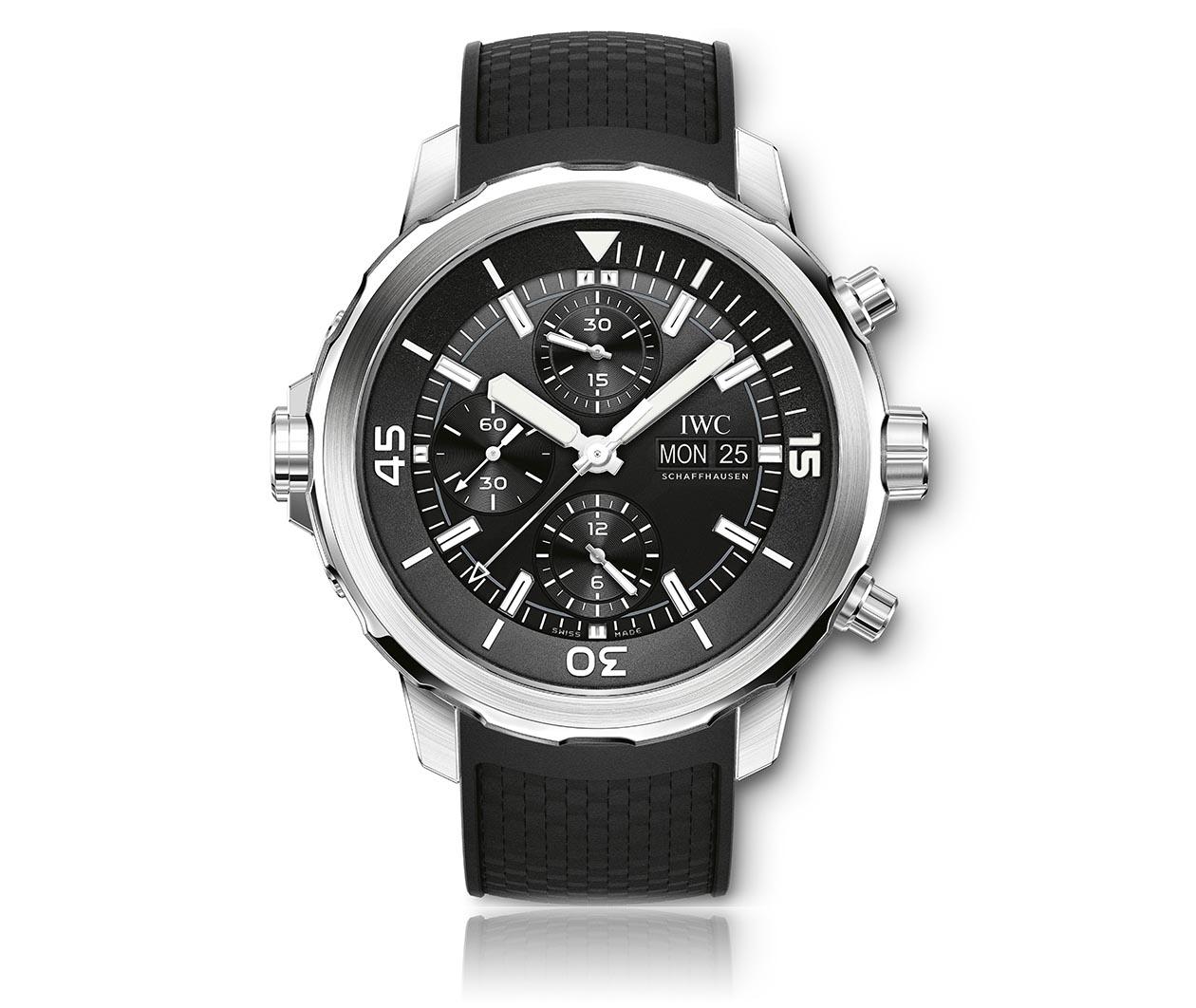 IWC Aquatimer Chronograph IW376803 Flatlay FINAL