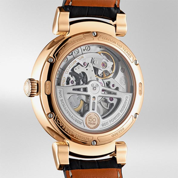 IWC DaVinci AutomaticEdition150Years IW358103 TechnicalSpecifications FINAL