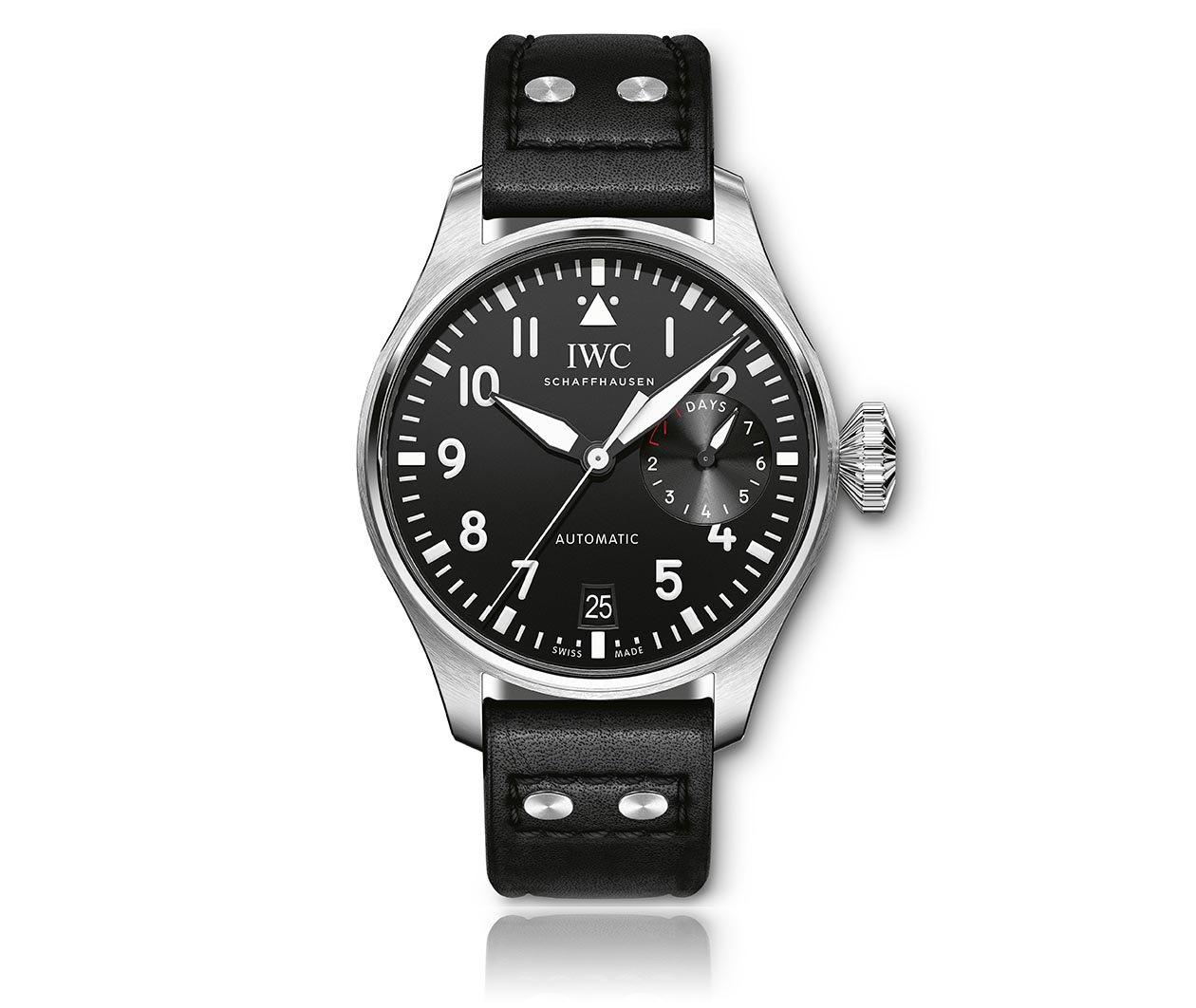 IWC PilotsWatch Big IW501001 Flatlay FINAL