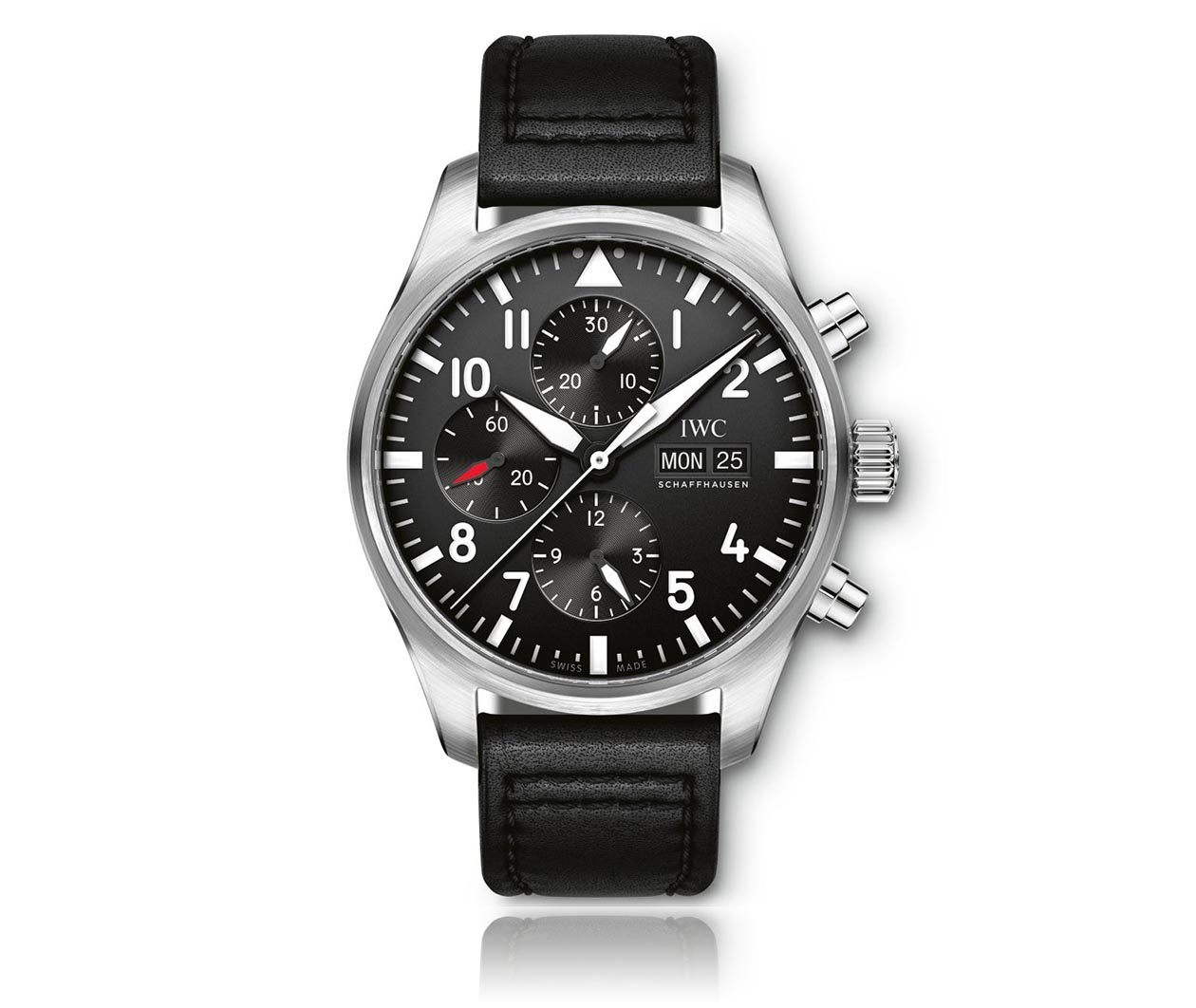 IWC PilotsWatch Chronograph IW377709 Flatlay FINAL