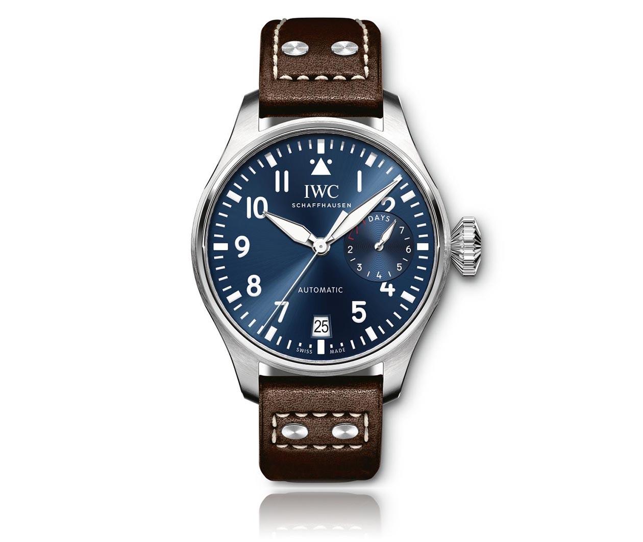 IWC PilotsWatch EditionLePetitPrince IW501002 Flatlay FINAL