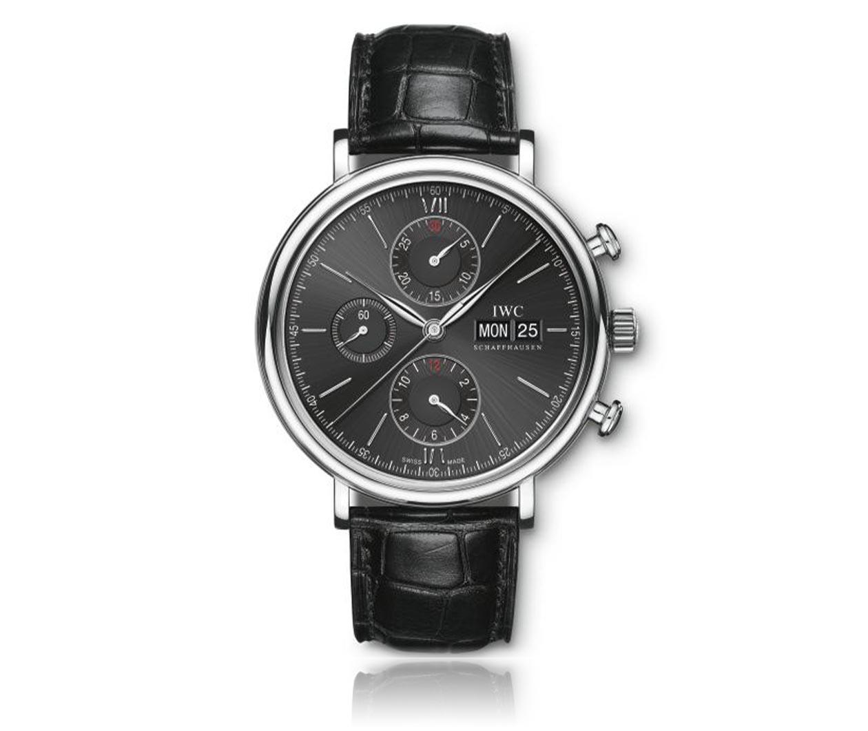IWC Portofino Chronograph IW391029 Flatlay FINAL