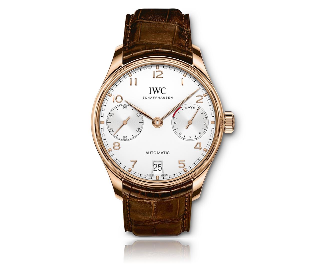 IWC Portugieser Automatic IW500701 Flatlay FINAL