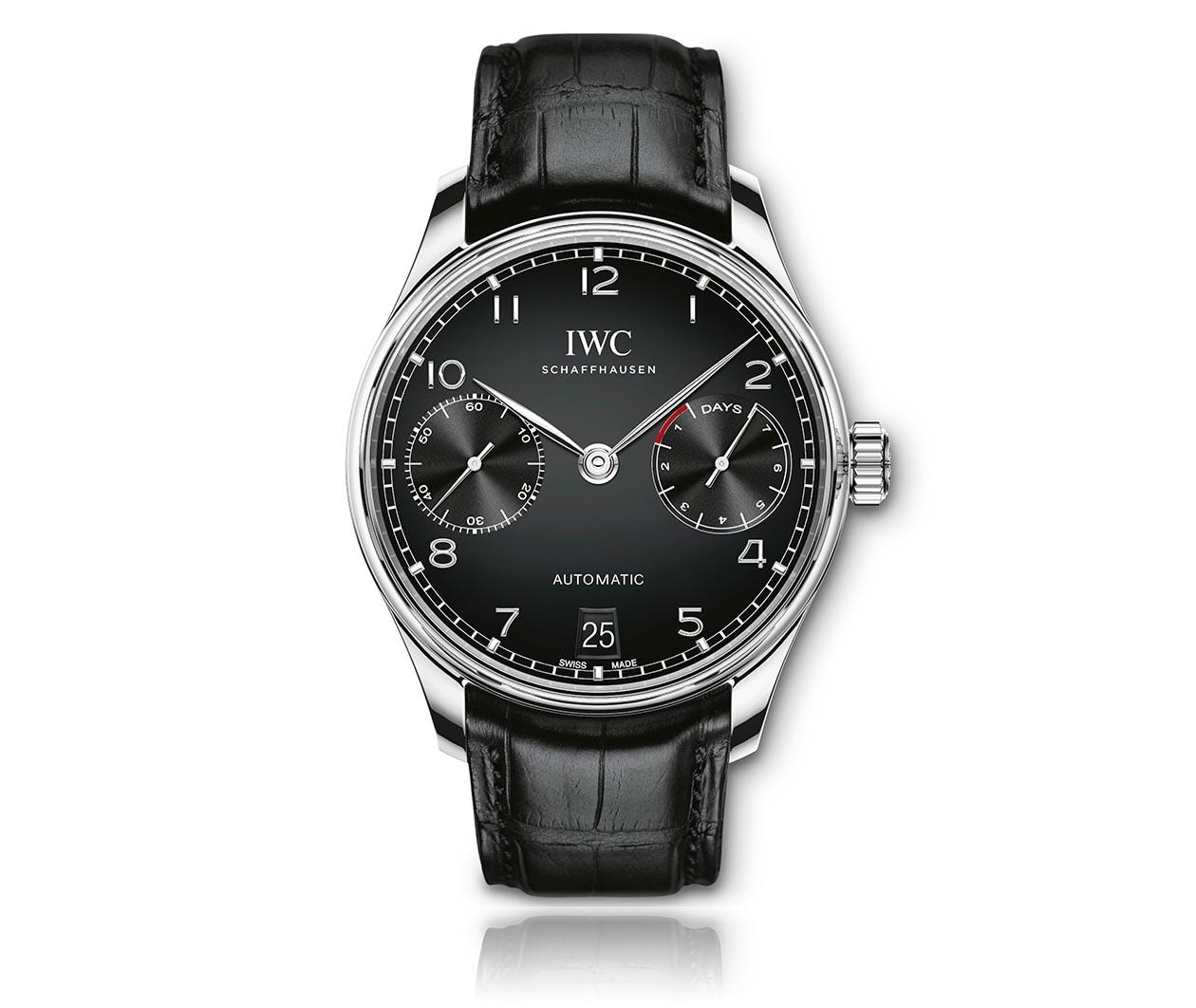 IWC Portugieser Automatic IW500703 Flatlay FINAL