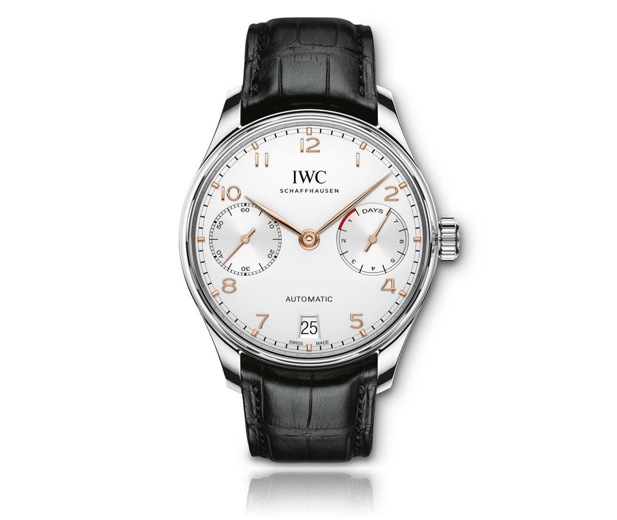 IWC Portugieser Automatic IW500704 Flatlay FINAL