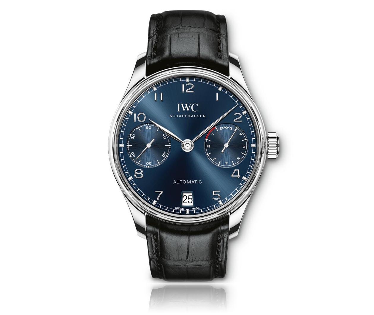 IWC Portugieser Automatic IW500710 Flatlay FINAL