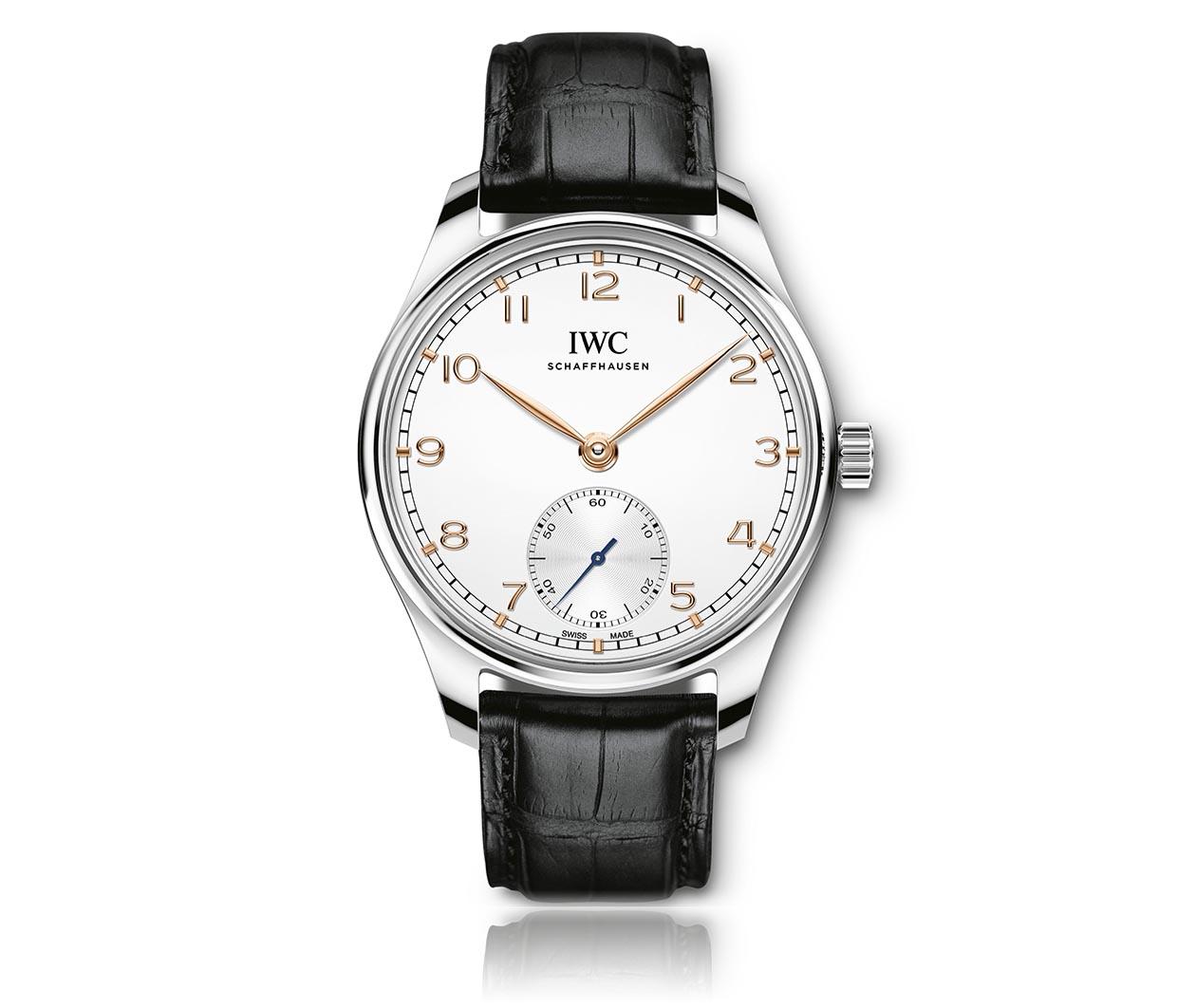 IWC Portugieser Automatic40 IW358303 Flatlay FINAL
