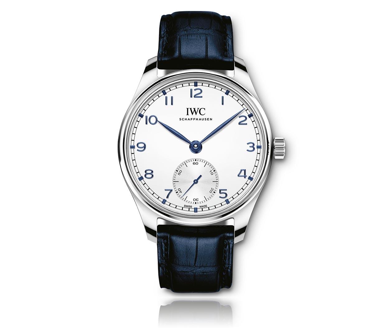 IWC Portugieser Automatic40 IW358304 Flatlay FINAL