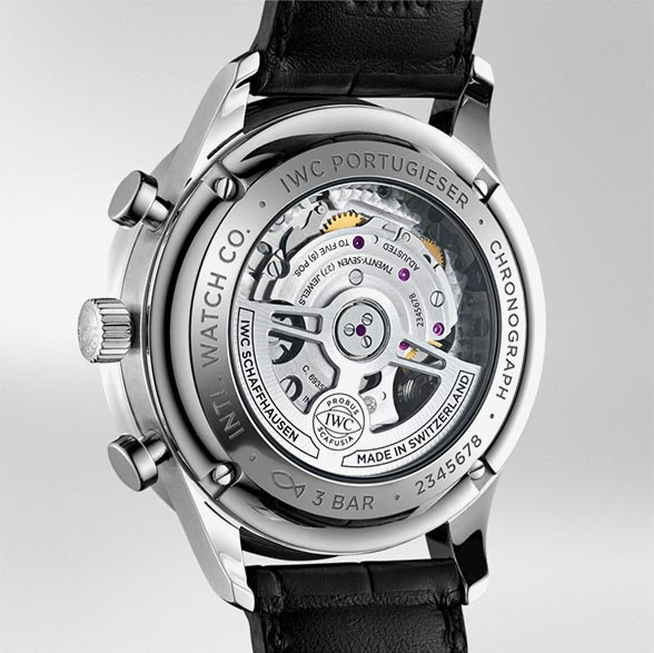 IWC Portugieser Chronograph IW371606 TechnicalSpecifications FINAL