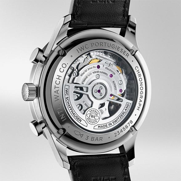 IWC Portugieser Chronograph IW371609 TechnicalSpecifications FINAL