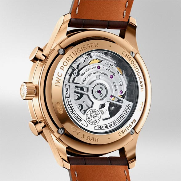IWC Portugieser Chronograph IW371611 TechnicalSpecifications FINAL