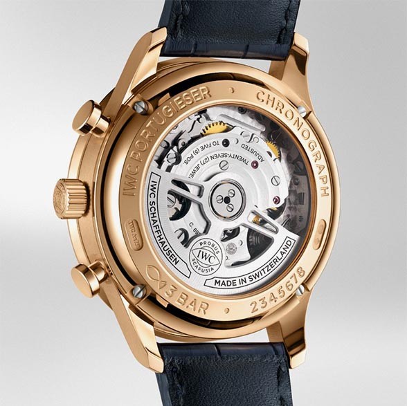 IWC Portugieser ChronographBoutiqueEdition IW371614 TechnicalSpecifications FINAL