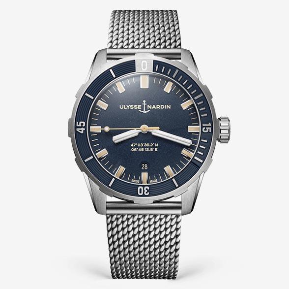 UlysseNardin Diver 42mm 81631757MIL93 TechnicalSpecifications FINAL
