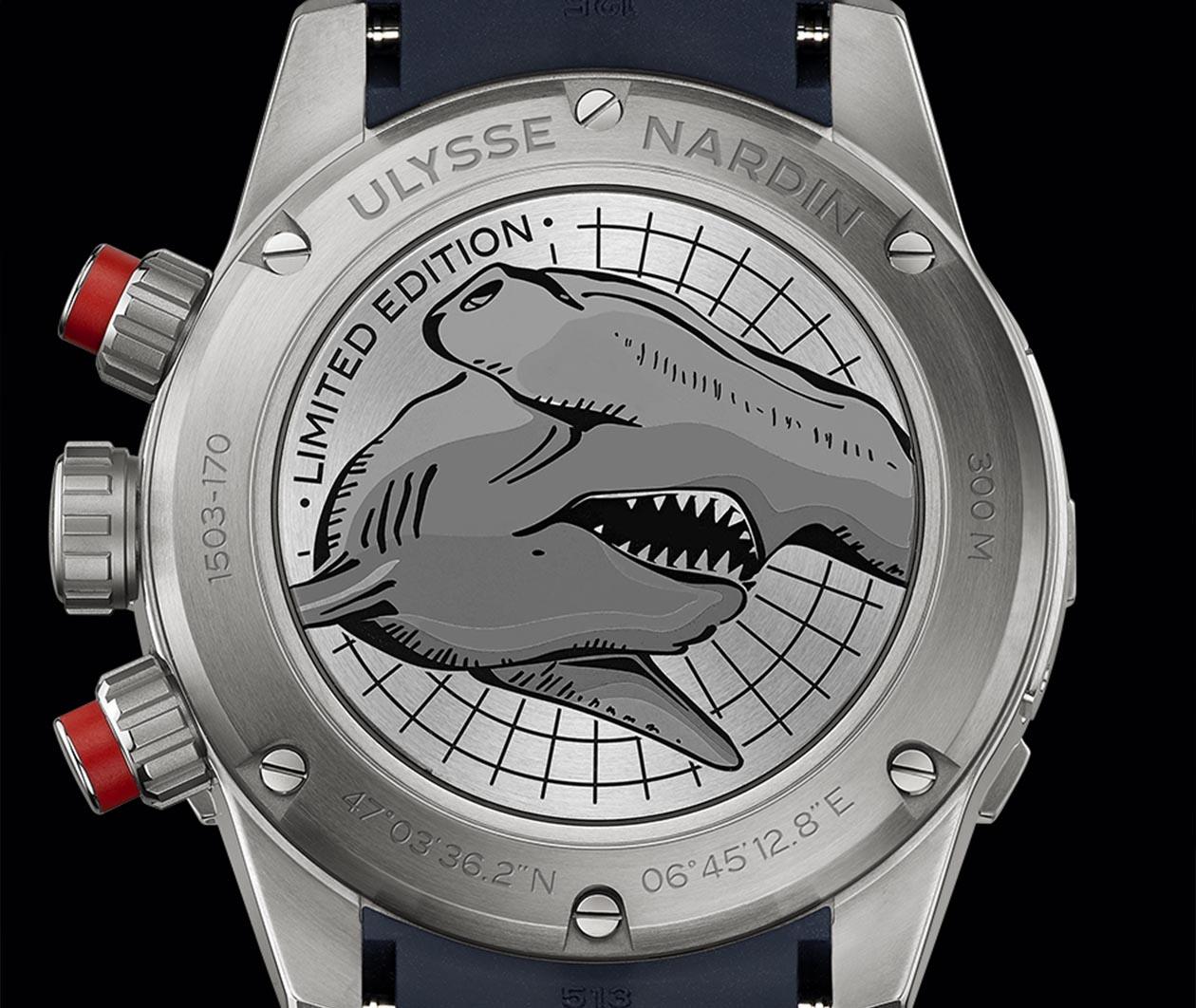 UlysseNardin Diver Chronograph 1503170LE393HAMMER Carousel 5 FINAL