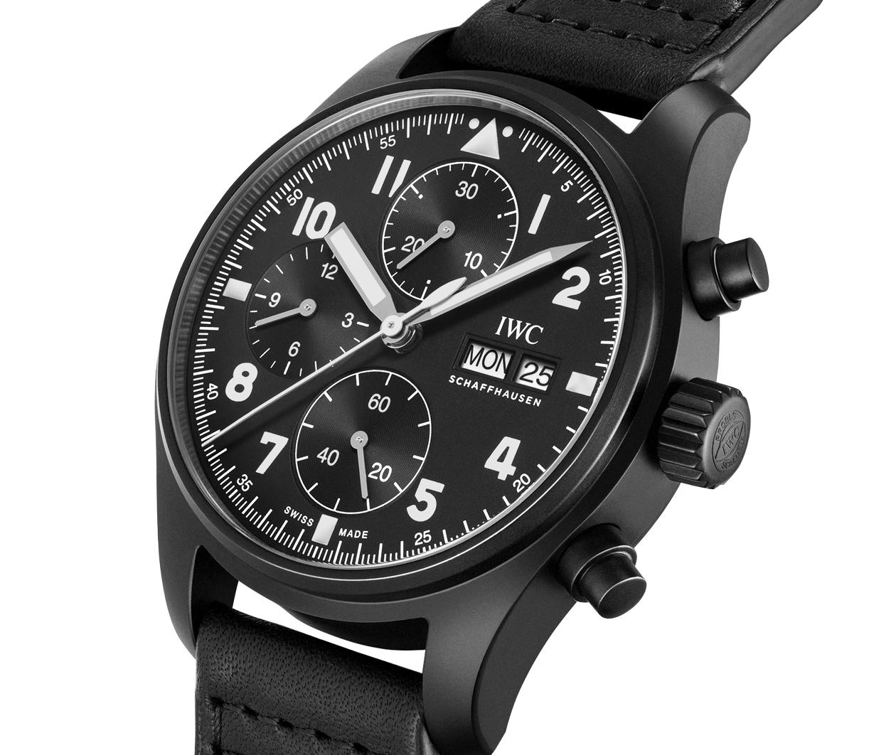 IWC PilotsWatch Chronograph EditionTribute3705 IW387905 Flatlay 2