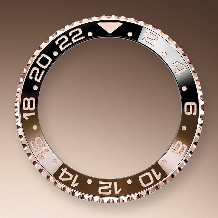 24 hour rotatable bezel oystersteel and everose gold 50919