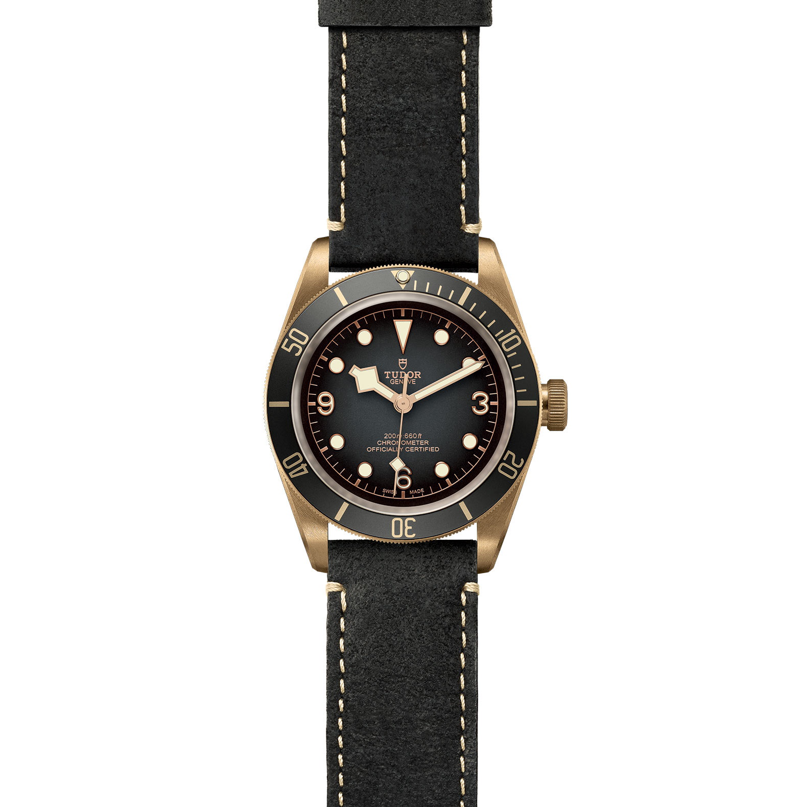 TUDOR Black Bay Bronze M79250BA 0001 Frontfacing