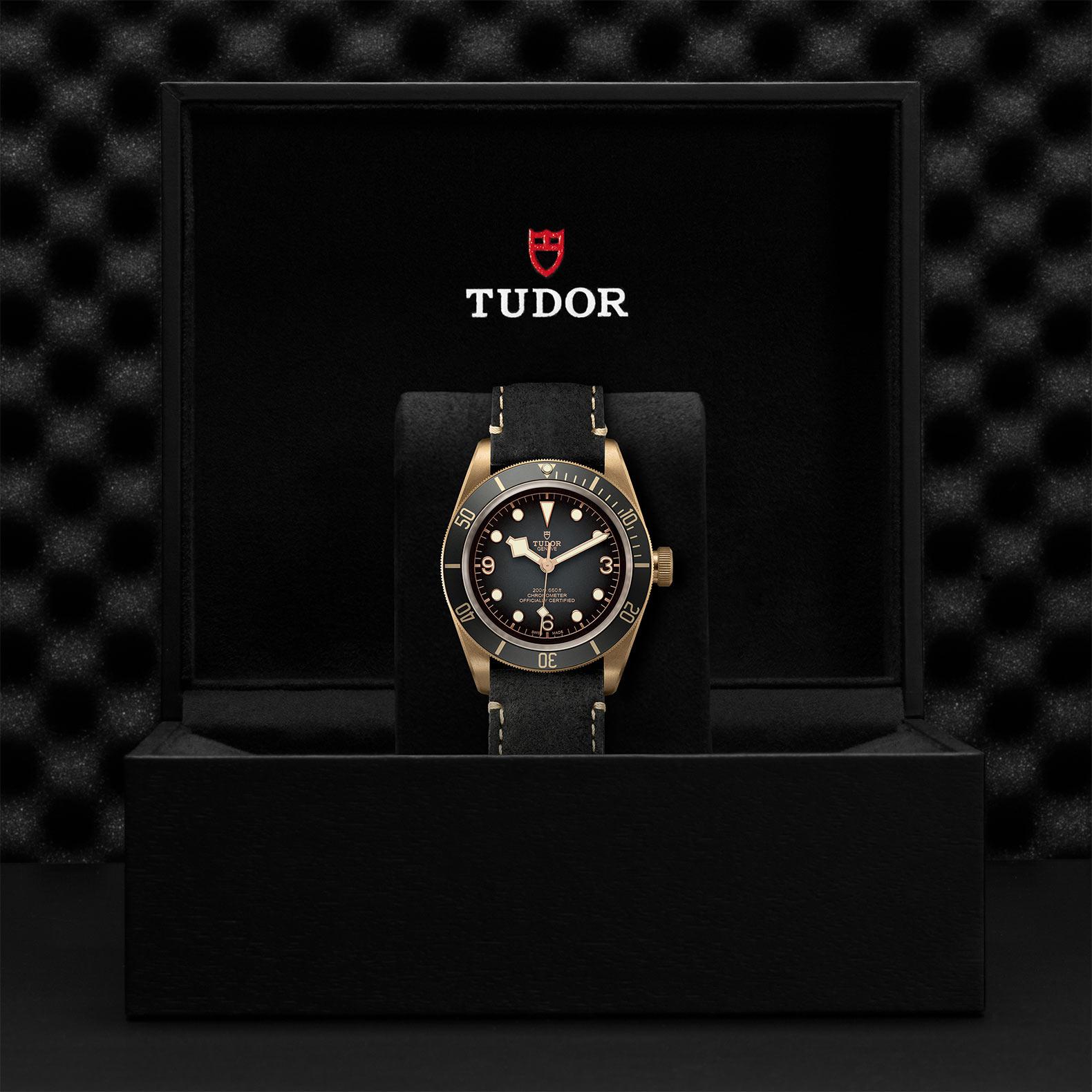 TUDOR Black Bay Bronze M79250BA 0001 Presentation