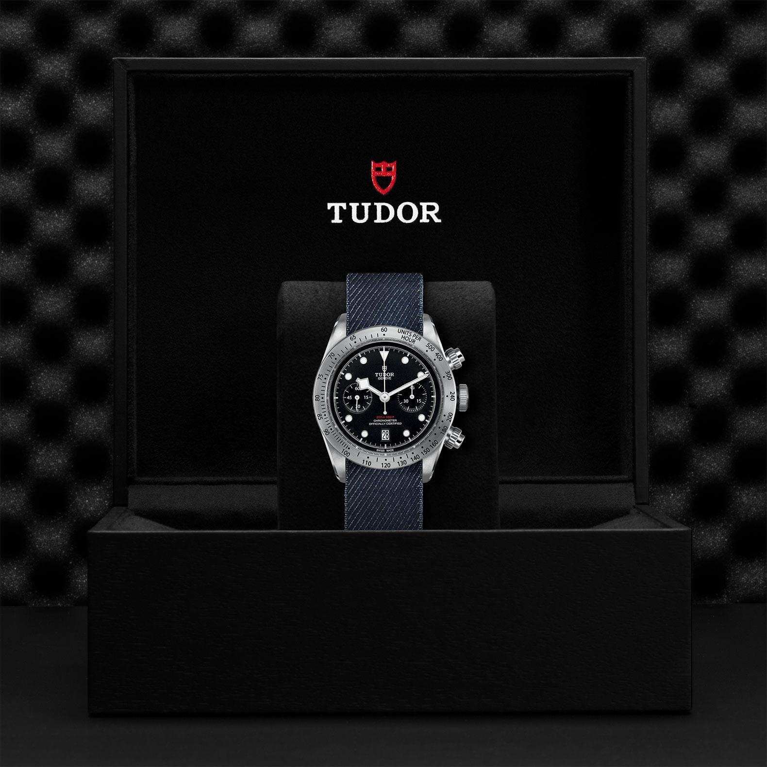 TUDOR Black Bay Chrono M79350 0003 Presentation