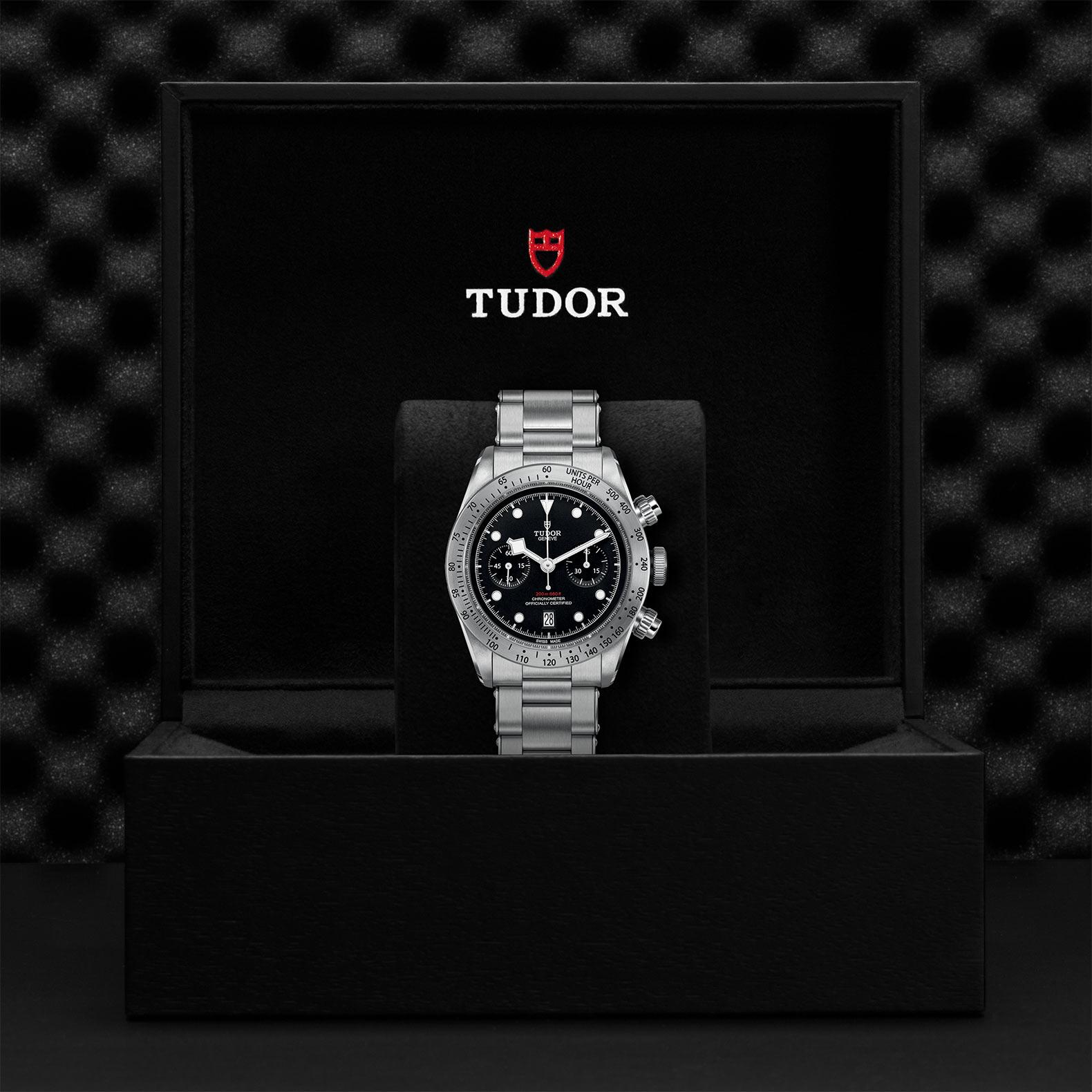 TUDOR Black Bay Chrono M79350 0004 Presentation