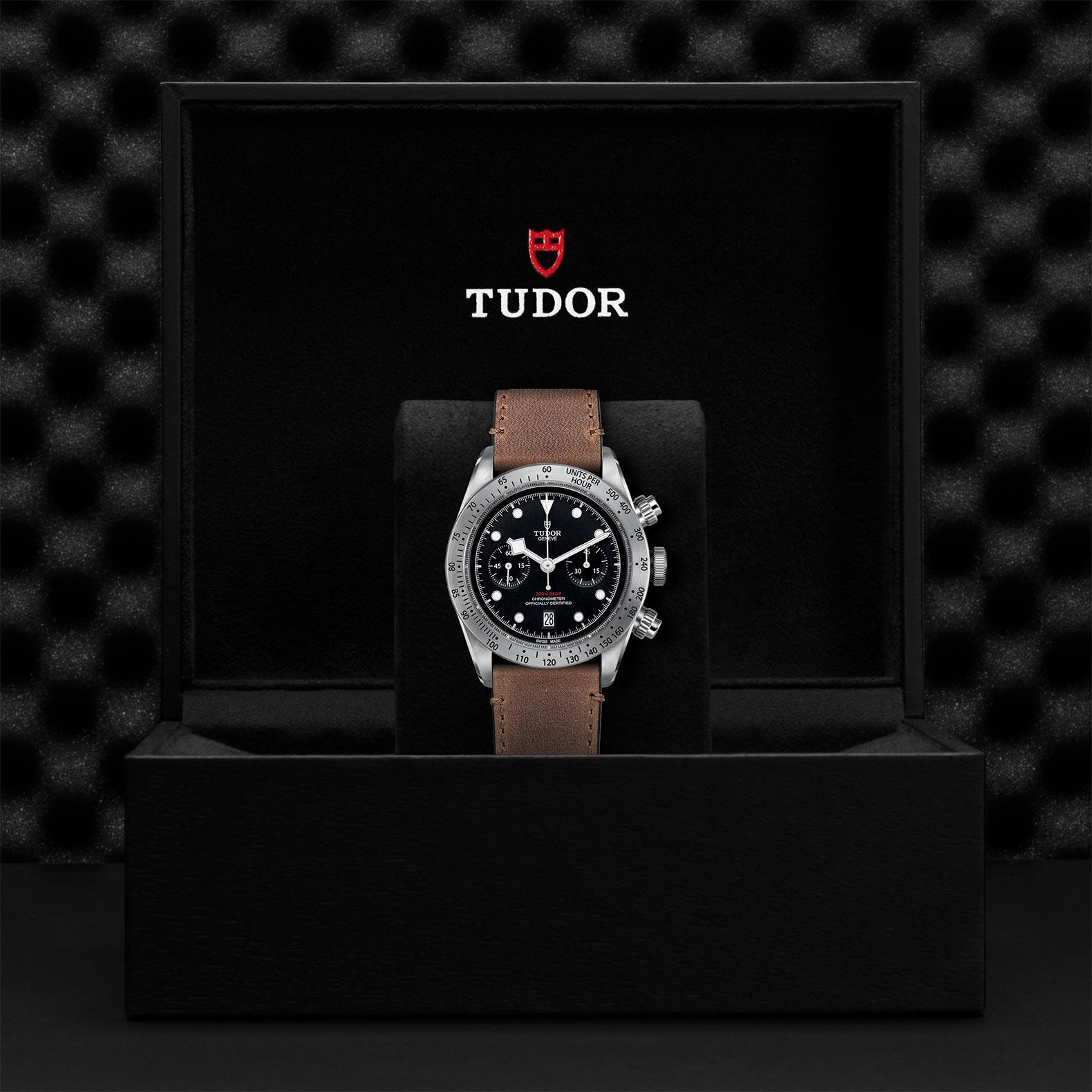 TUDOR Black Bay Chrono M79350 0005 Presentation