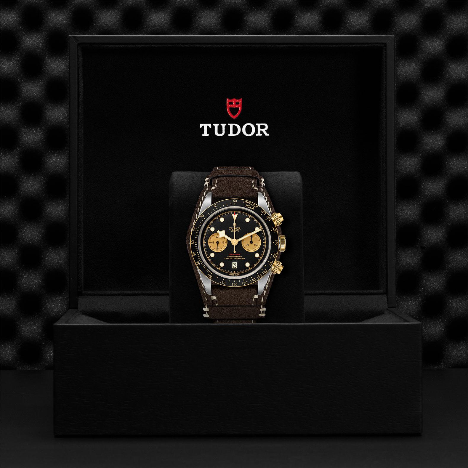 TUDOR Black Bay Chrono SG M79363N 0002 Presentation