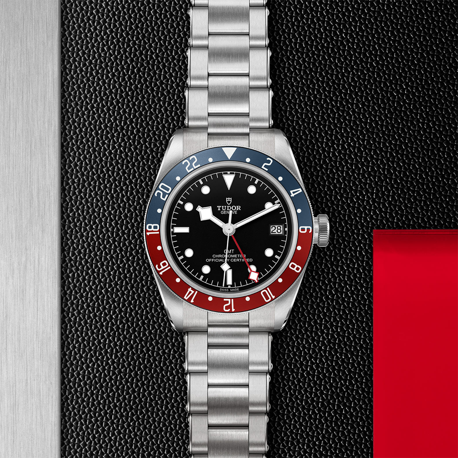 TUDOR Black Bay GMT M79830RB 0001 Flatlay
