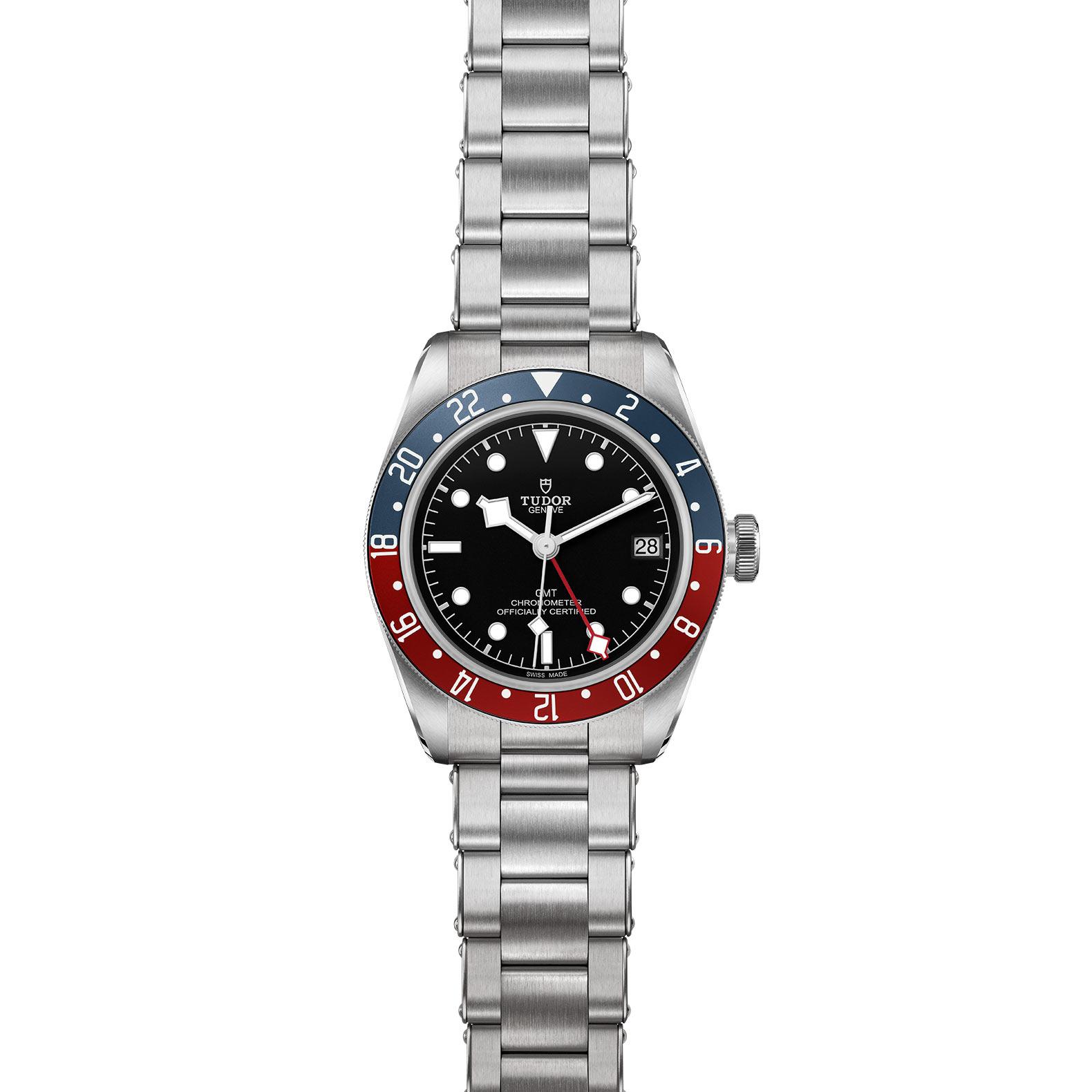 TUDOR Black Bay GMT M79830RB 0001 Frontfacing