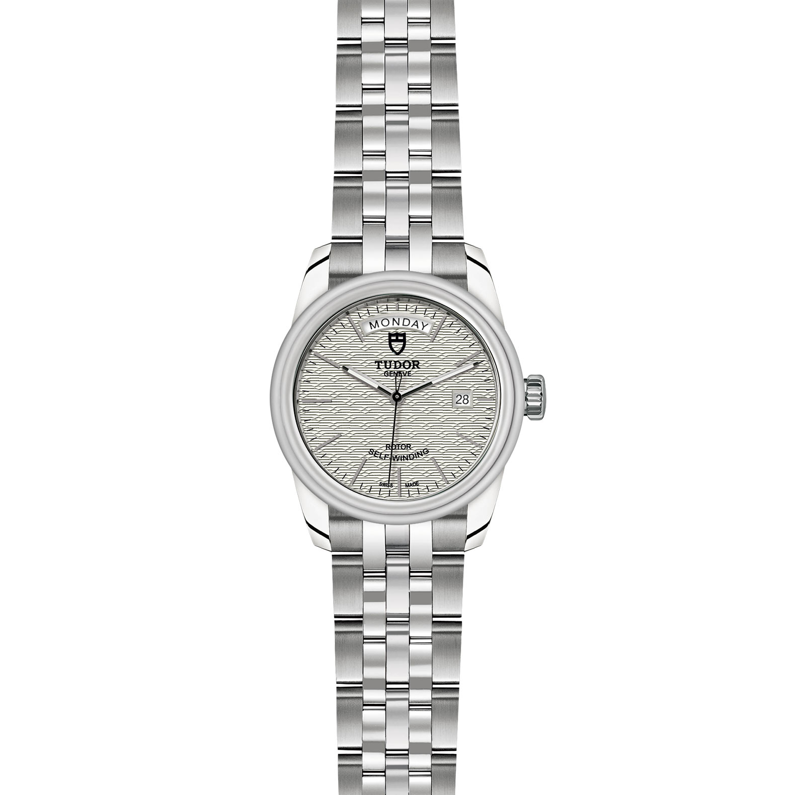 TUDOR Glamour Date Day M56000 0003 Frontfacing