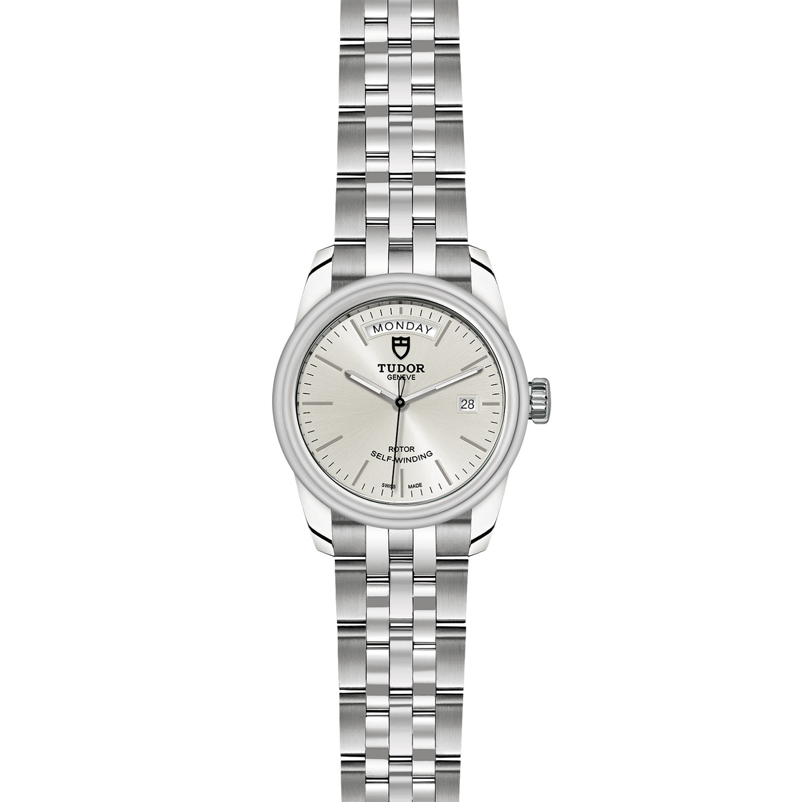 TUDOR Glamour Date Day M56000 0005 Frontfacing