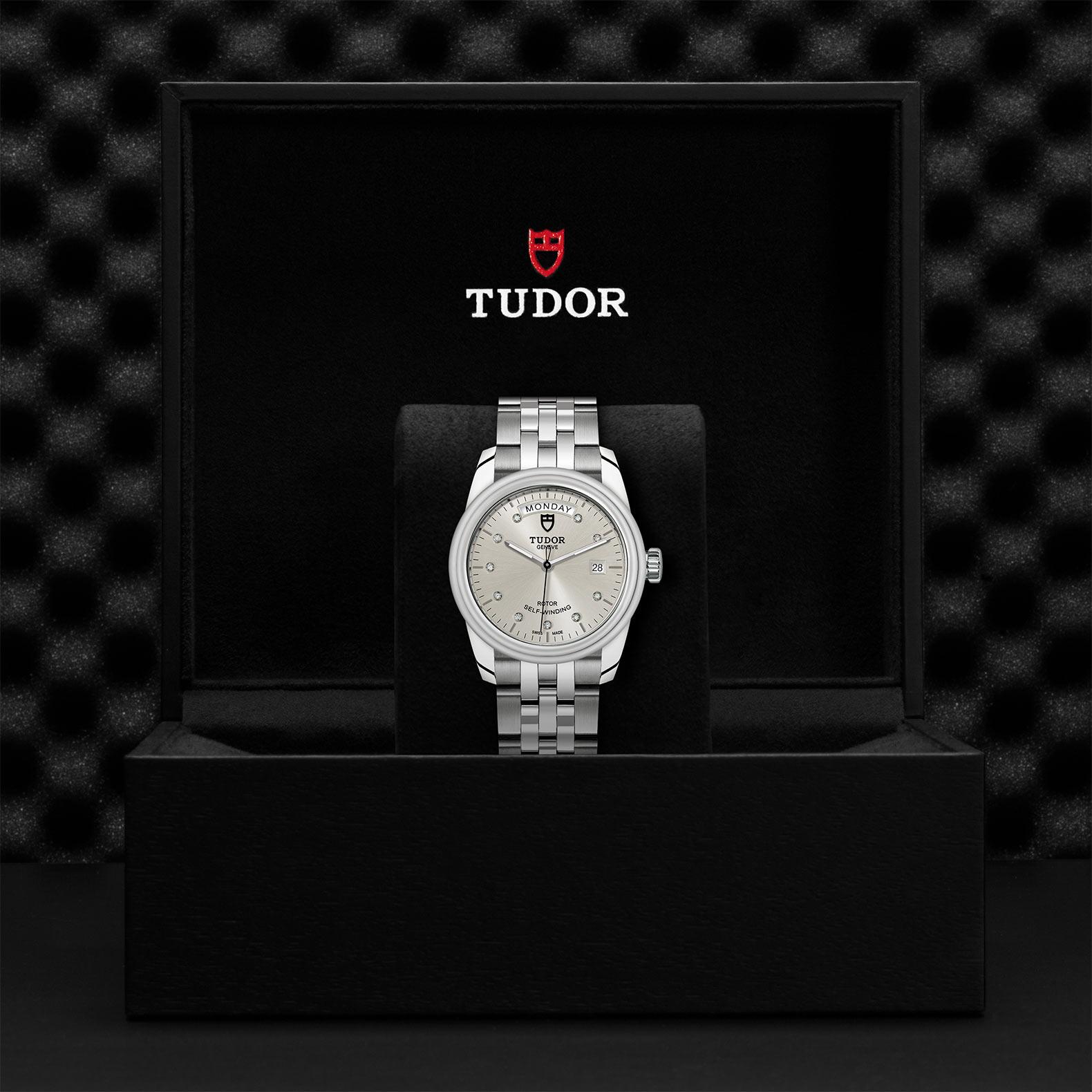 TUDOR Glamour Date Day M56000 0006 Presentationbox
