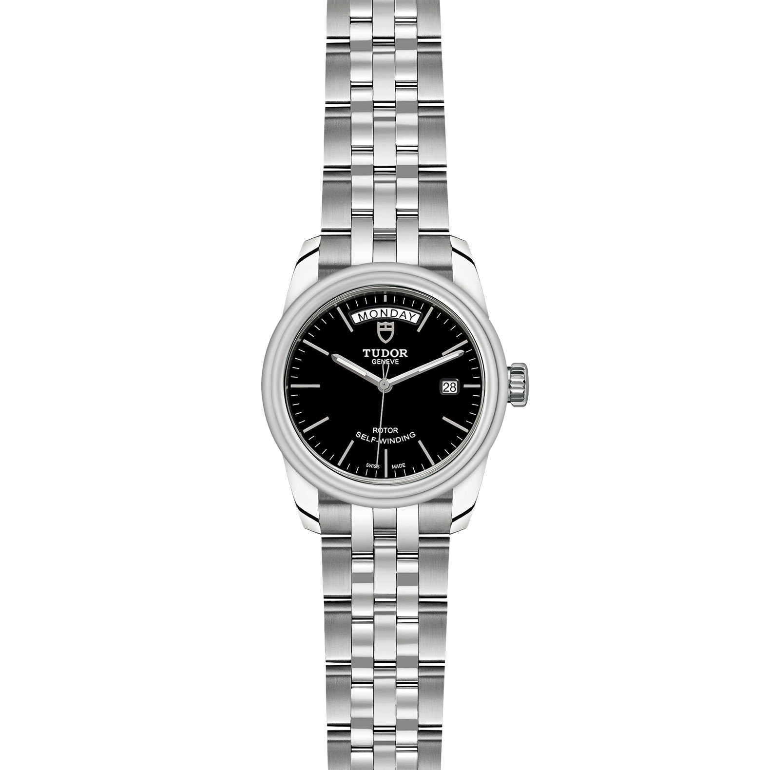 TUDOR Glamour Date Day M56000 0007 Frontfacing
