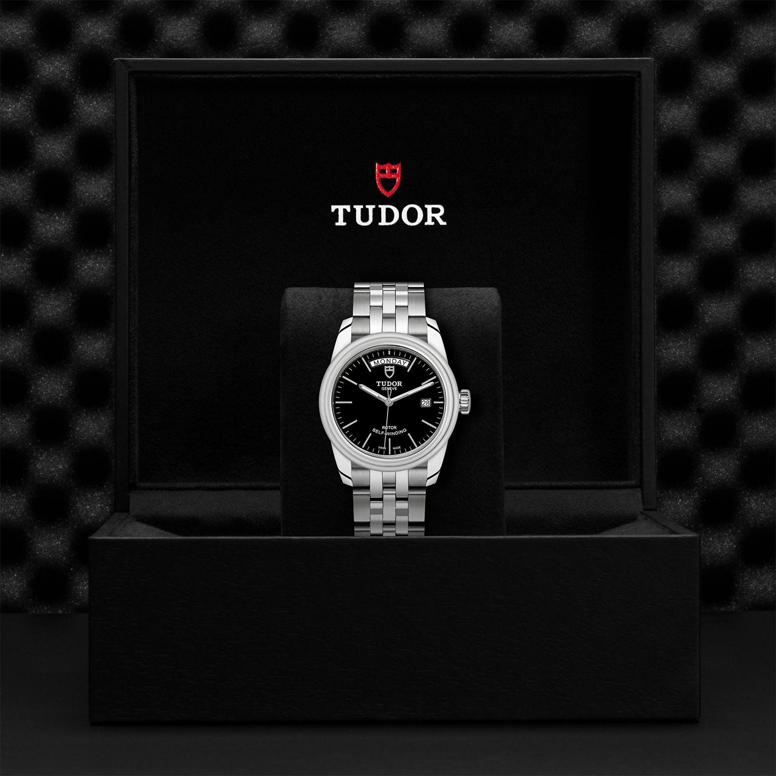 TUDOR Glamour Date Day M56000 0007 Presentationbox