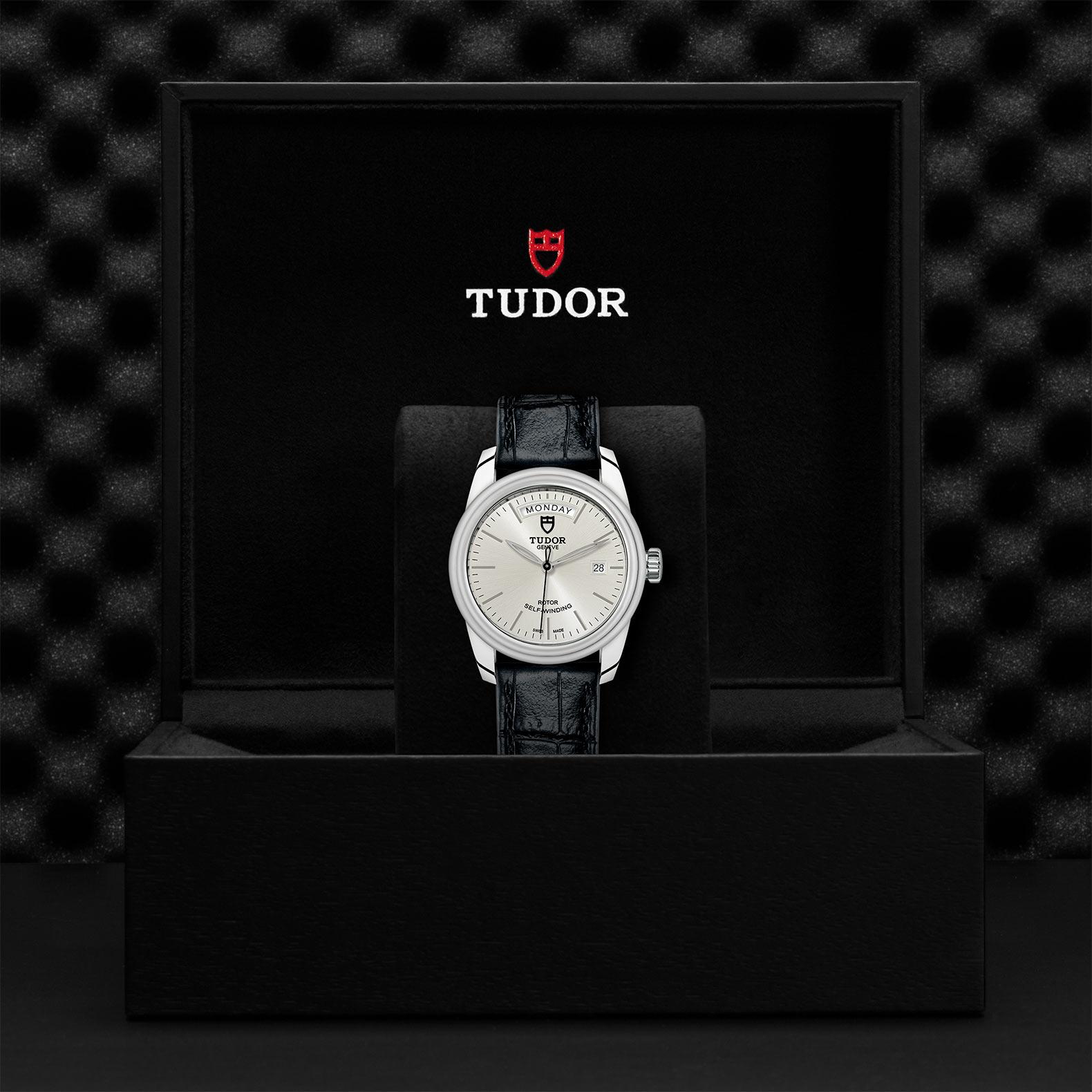 TUDOR Glamour Date Day M56000 0018 Presentationbox