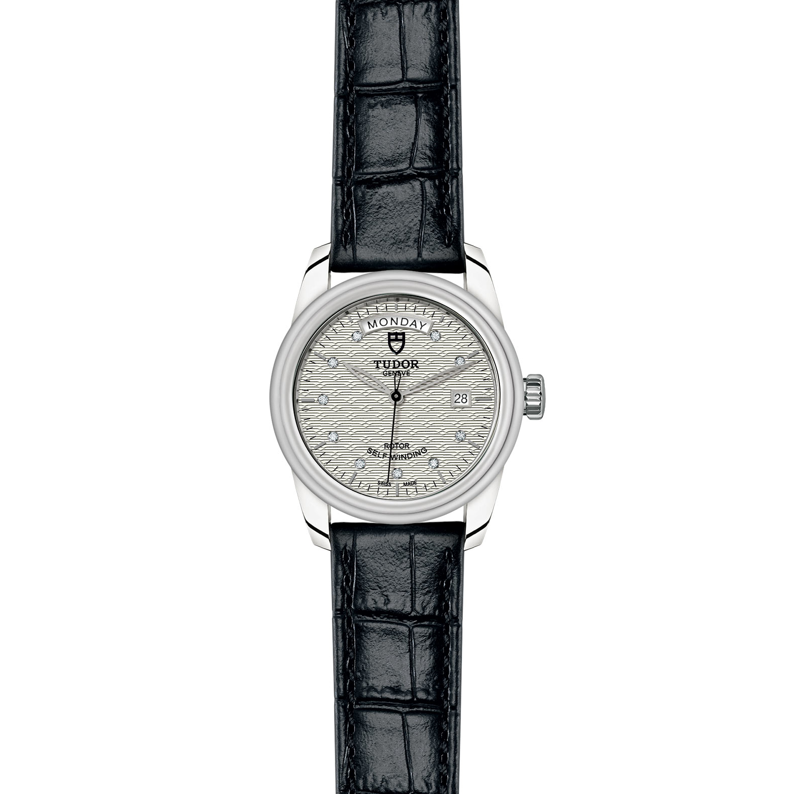 TUDOR Glamour Date Day M56000 0038 Frontfacing