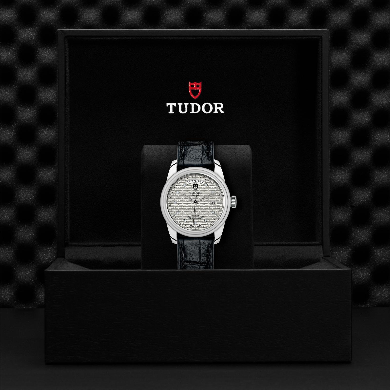 TUDOR Glamour Date Day M56000 0038 Presentationbox