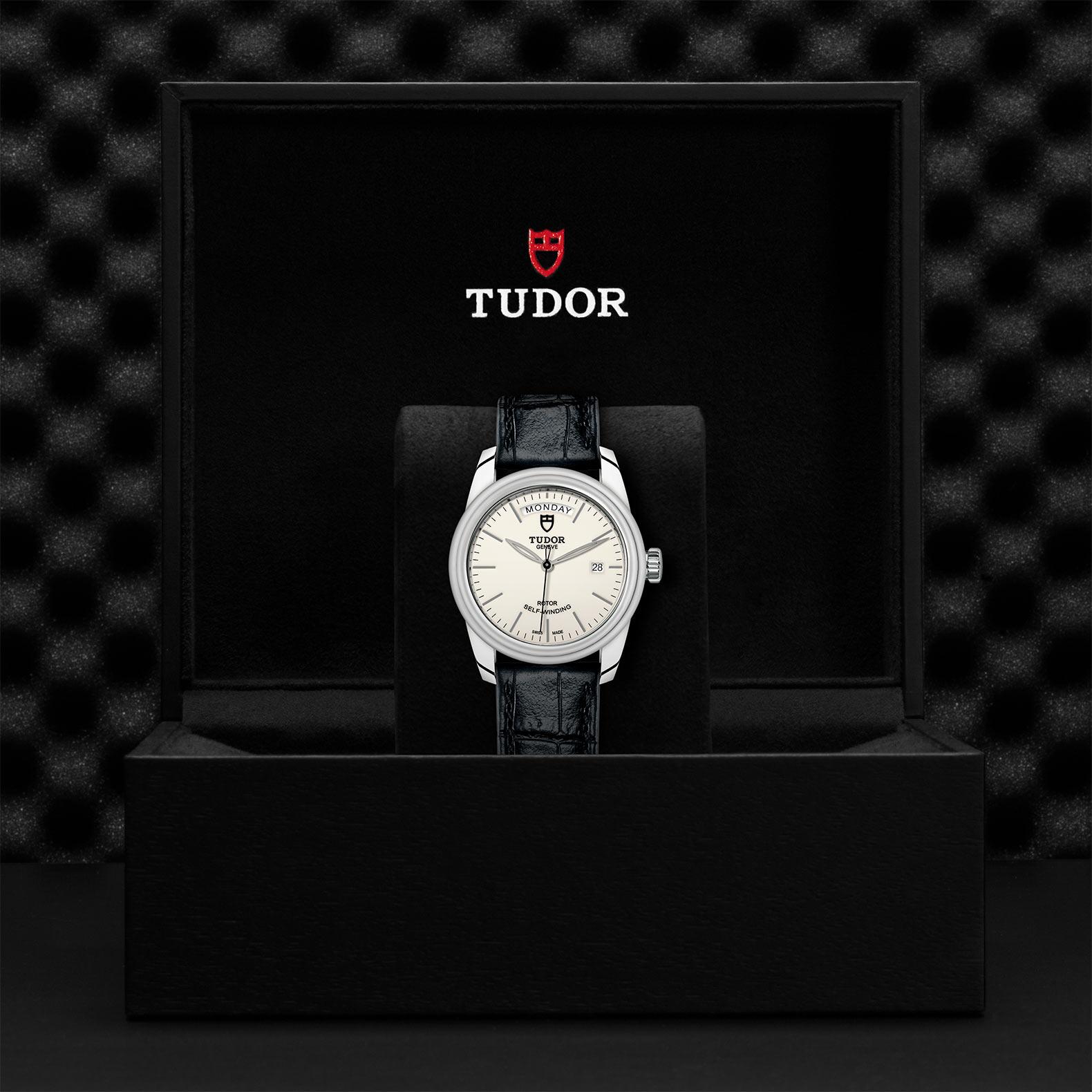 TUDOR Glamour Date Day M56000 0176 Presentationbox