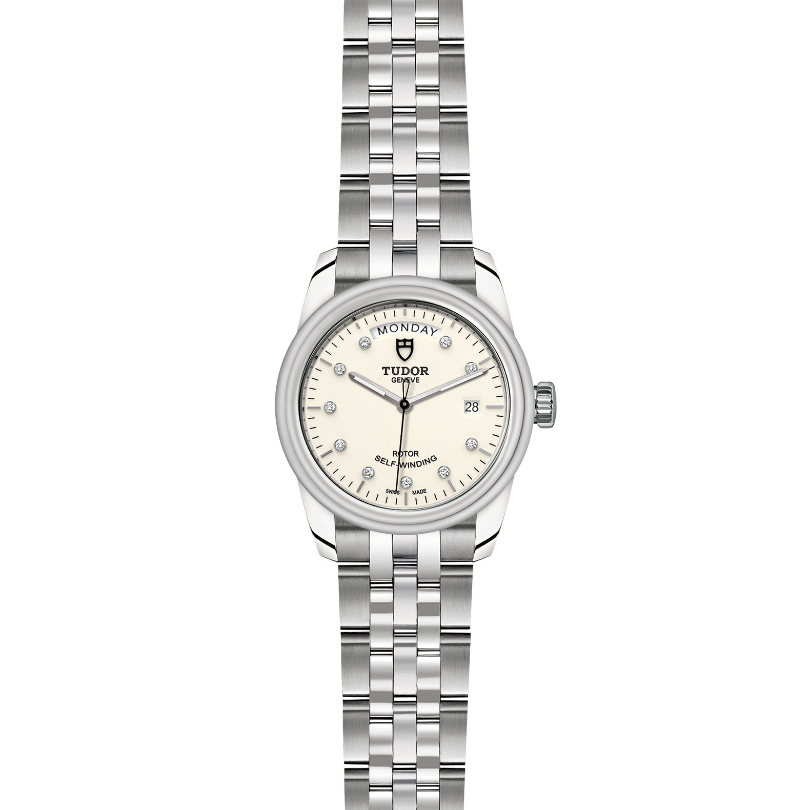 TUDOR Glamour Date Day M56000 0182 Frontfacing