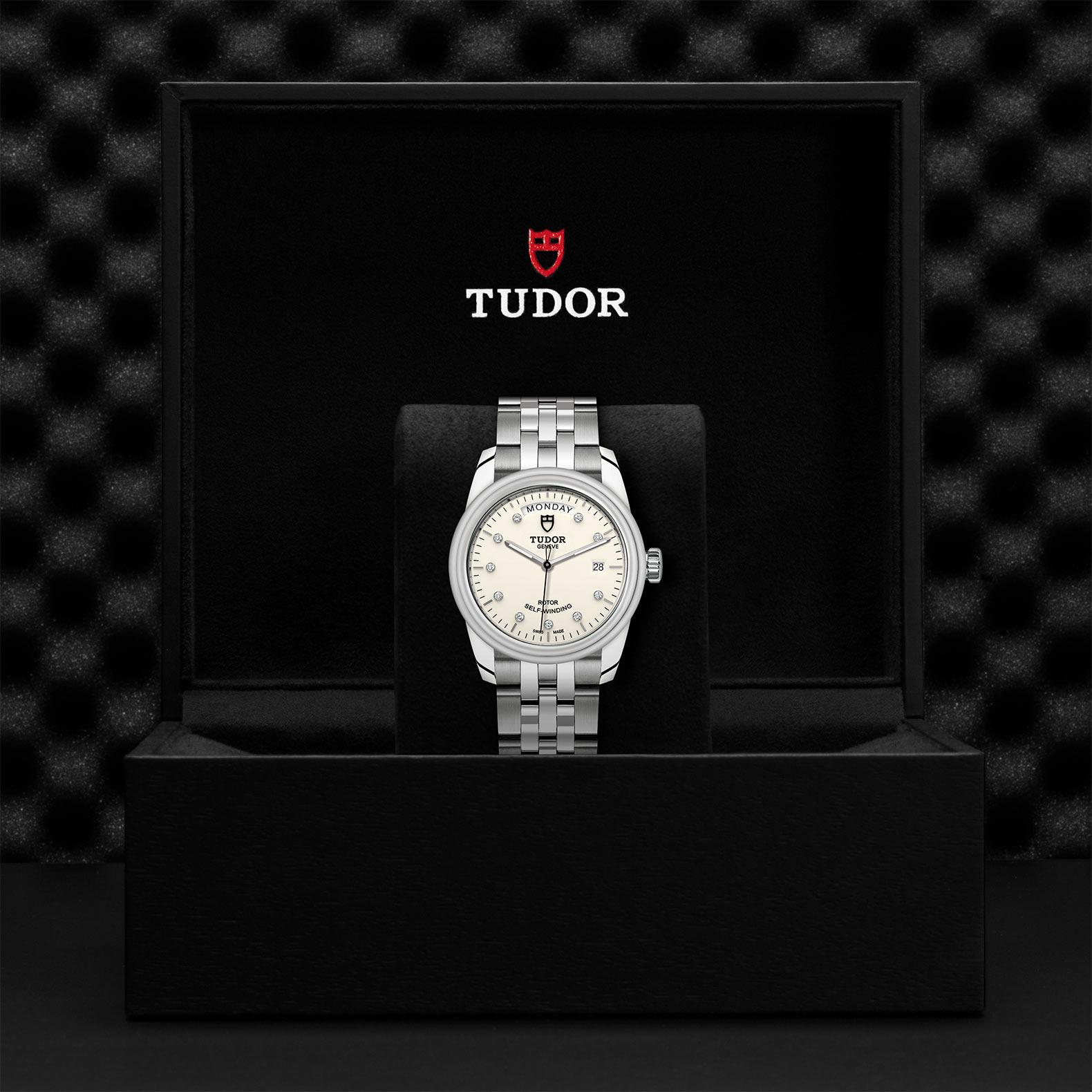 TUDOR Glamour Date Day M56000 0182 Presentationbox