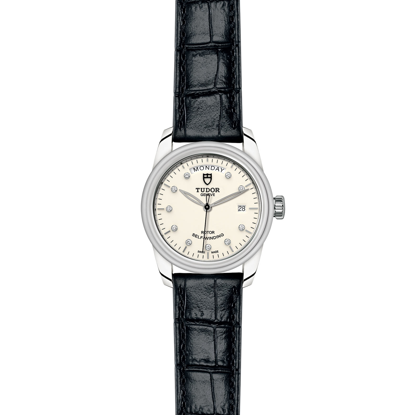 TUDOR Glamour Date Day M56000 0184 Frontfacing