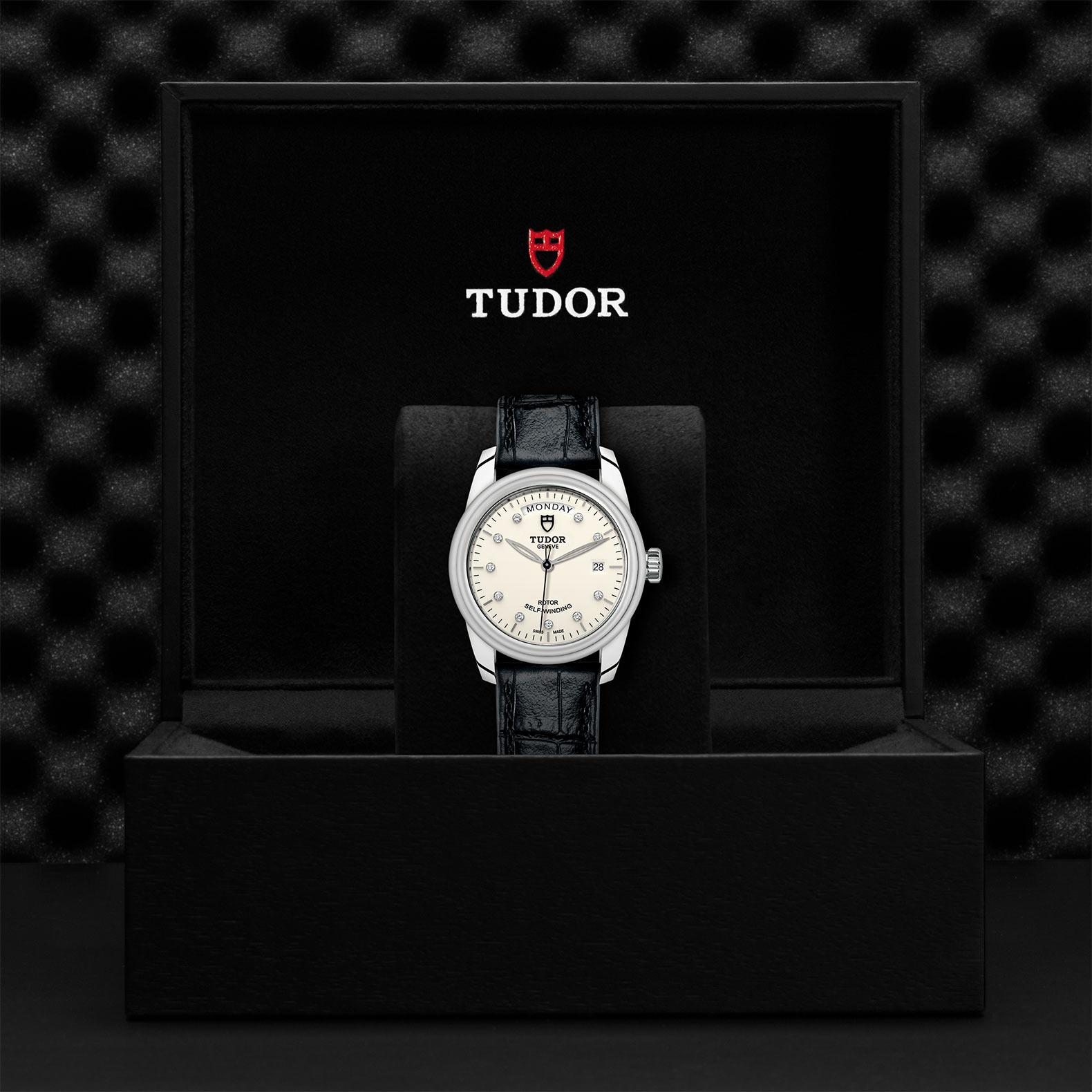 TUDOR Glamour Date Day M56000 0184 Presentationbox