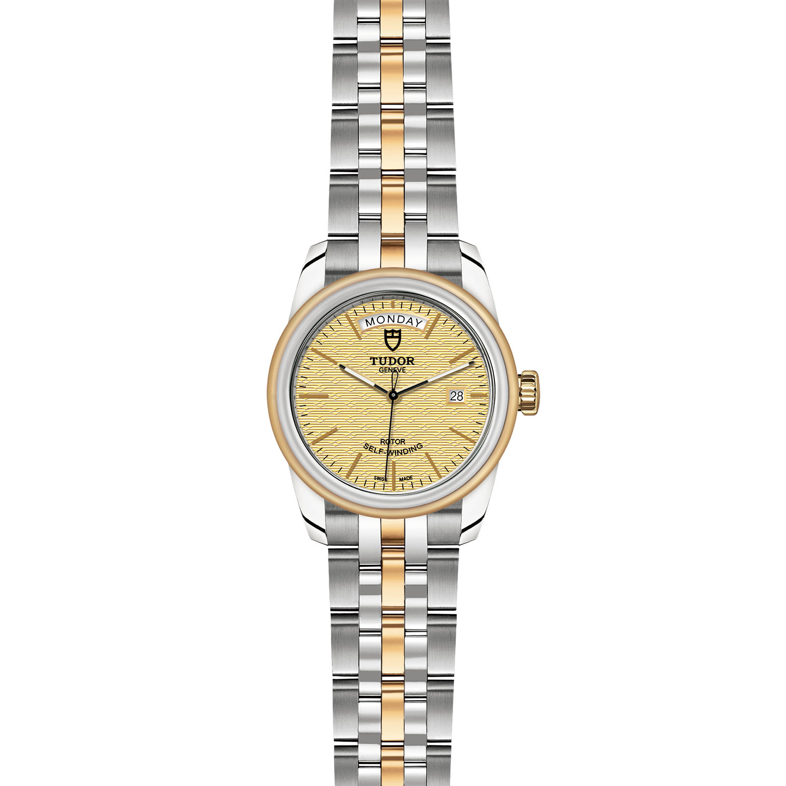 TUDOR Glamour Date Day M56003 0003 Frontfacing