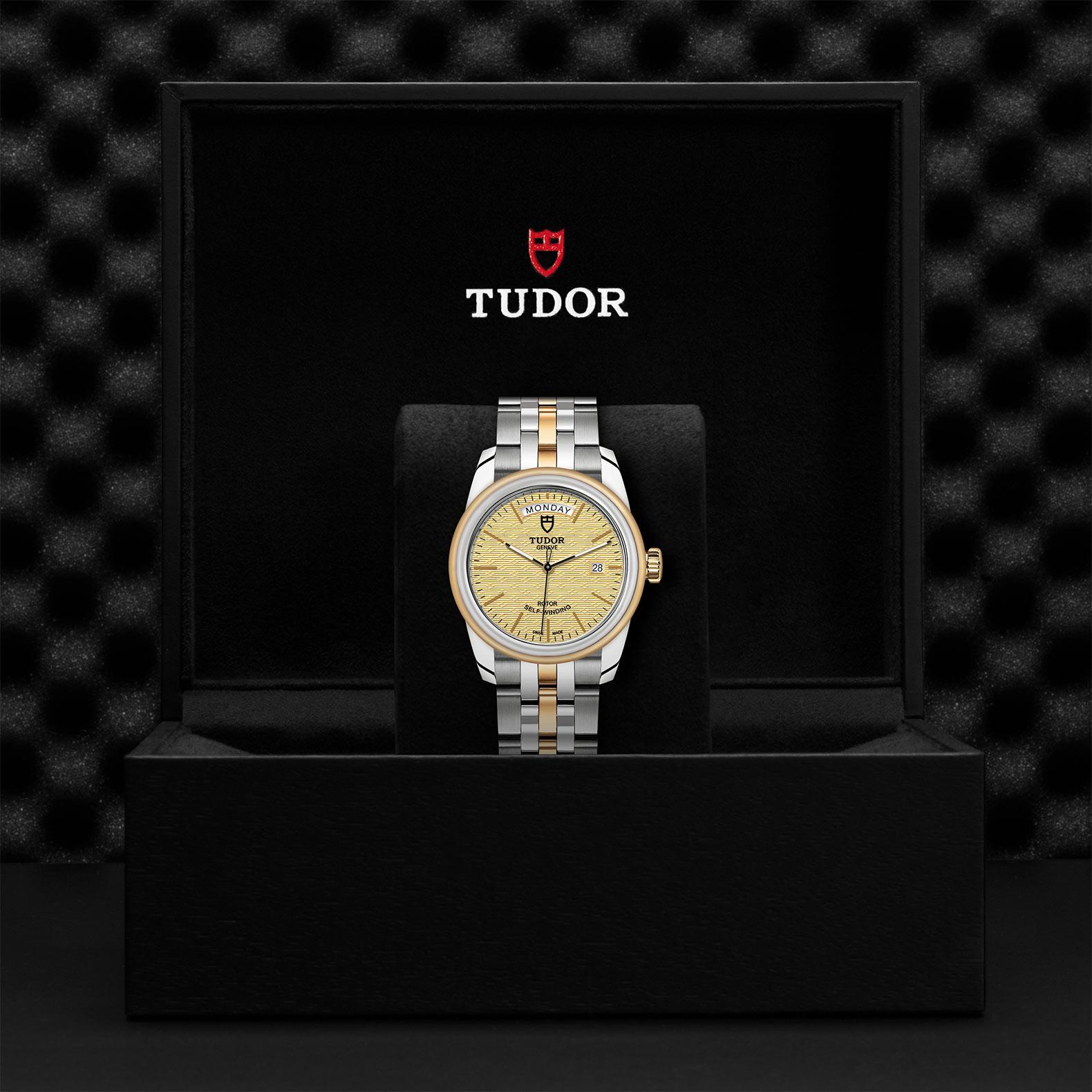 TUDOR Glamour Date Day M56003 0003 Presentationbox