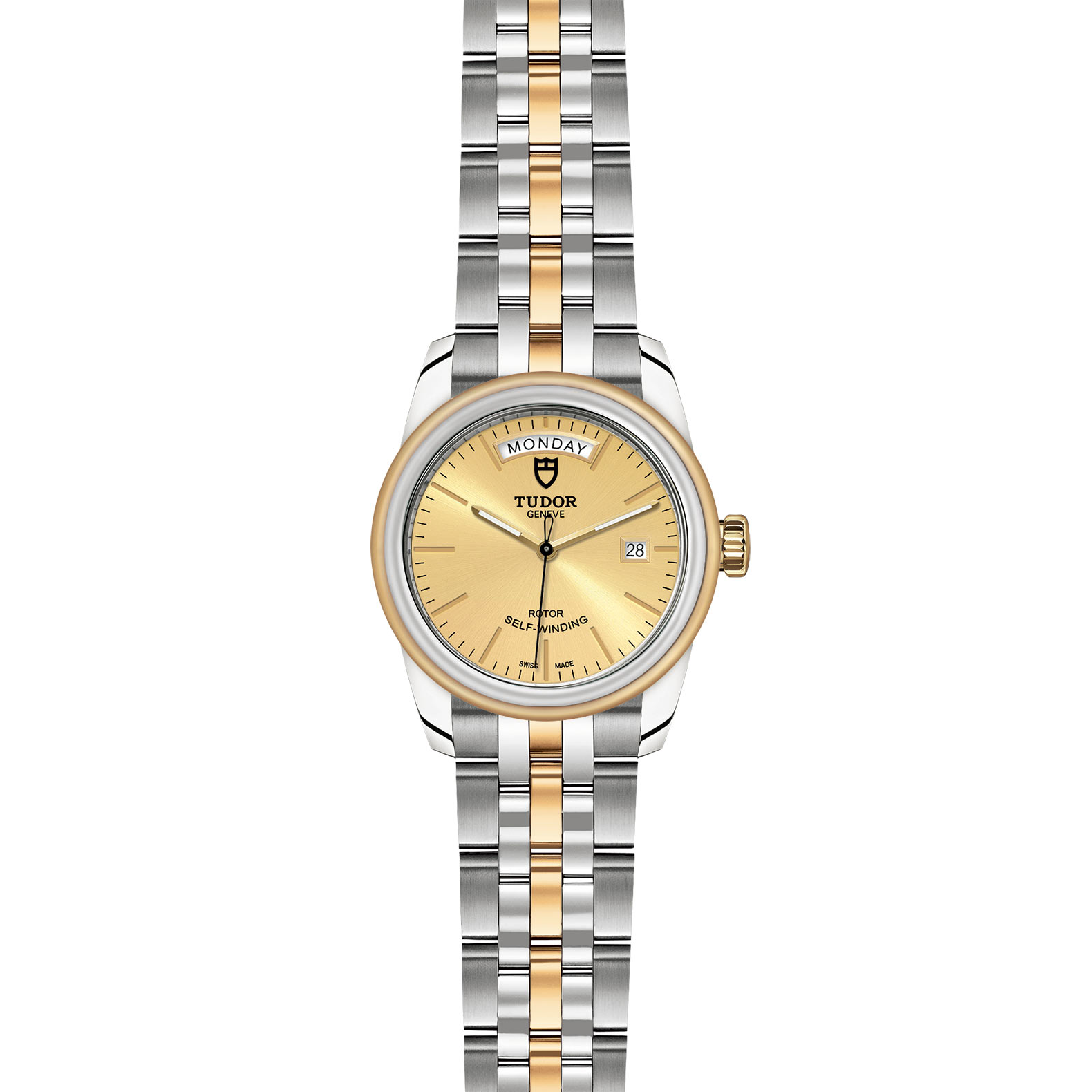 TUDOR Glamour Date Day M56003 0005 Frontfacing