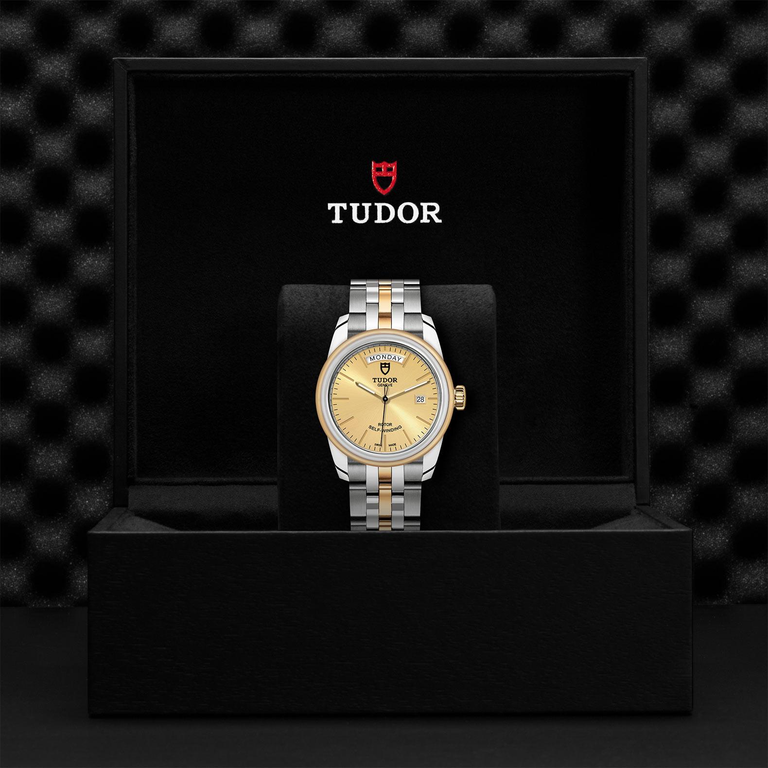 TUDOR Glamour Date Day M56003 0005 Presentationbox