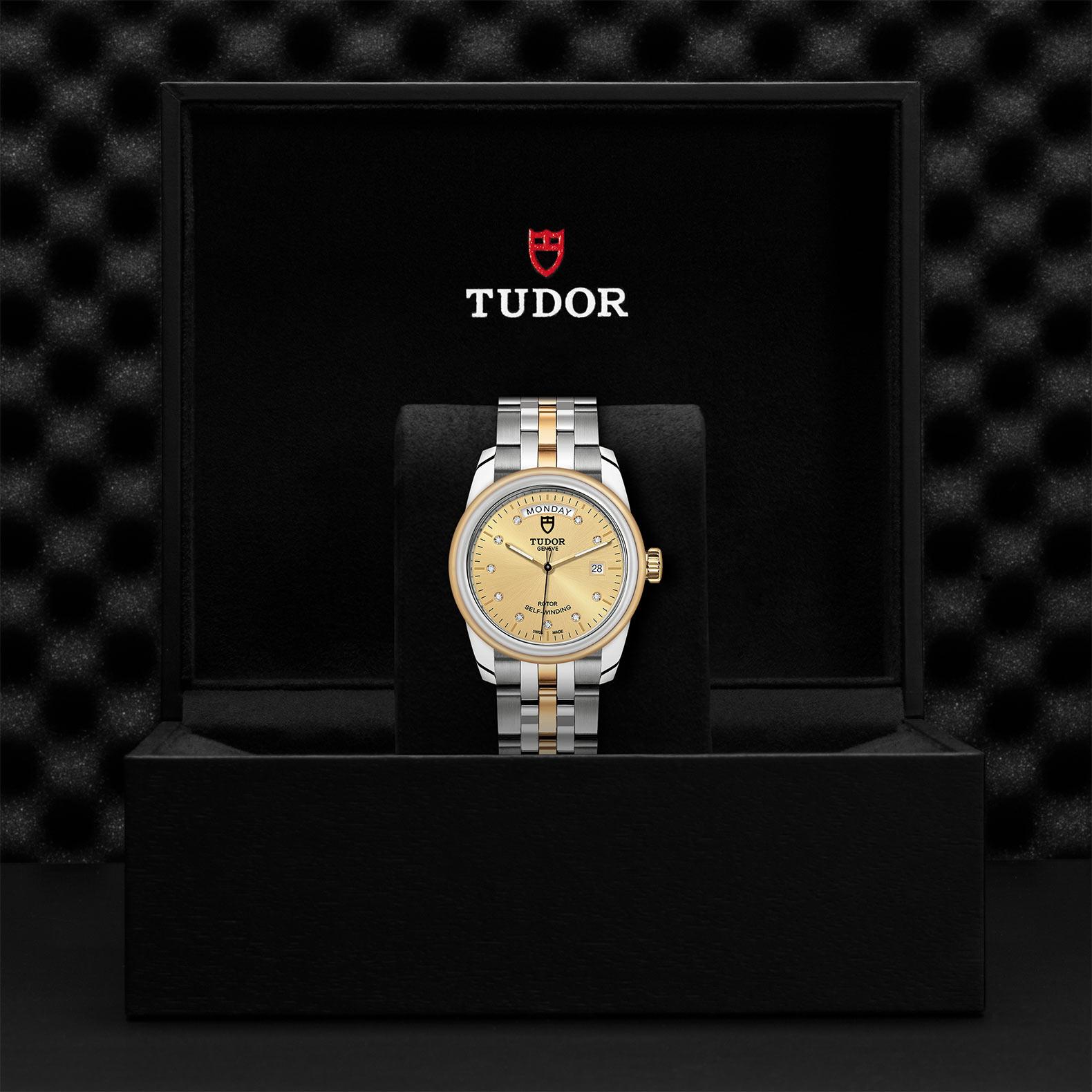 TUDOR Glamour Date Day M56003 0006 Presentationbox