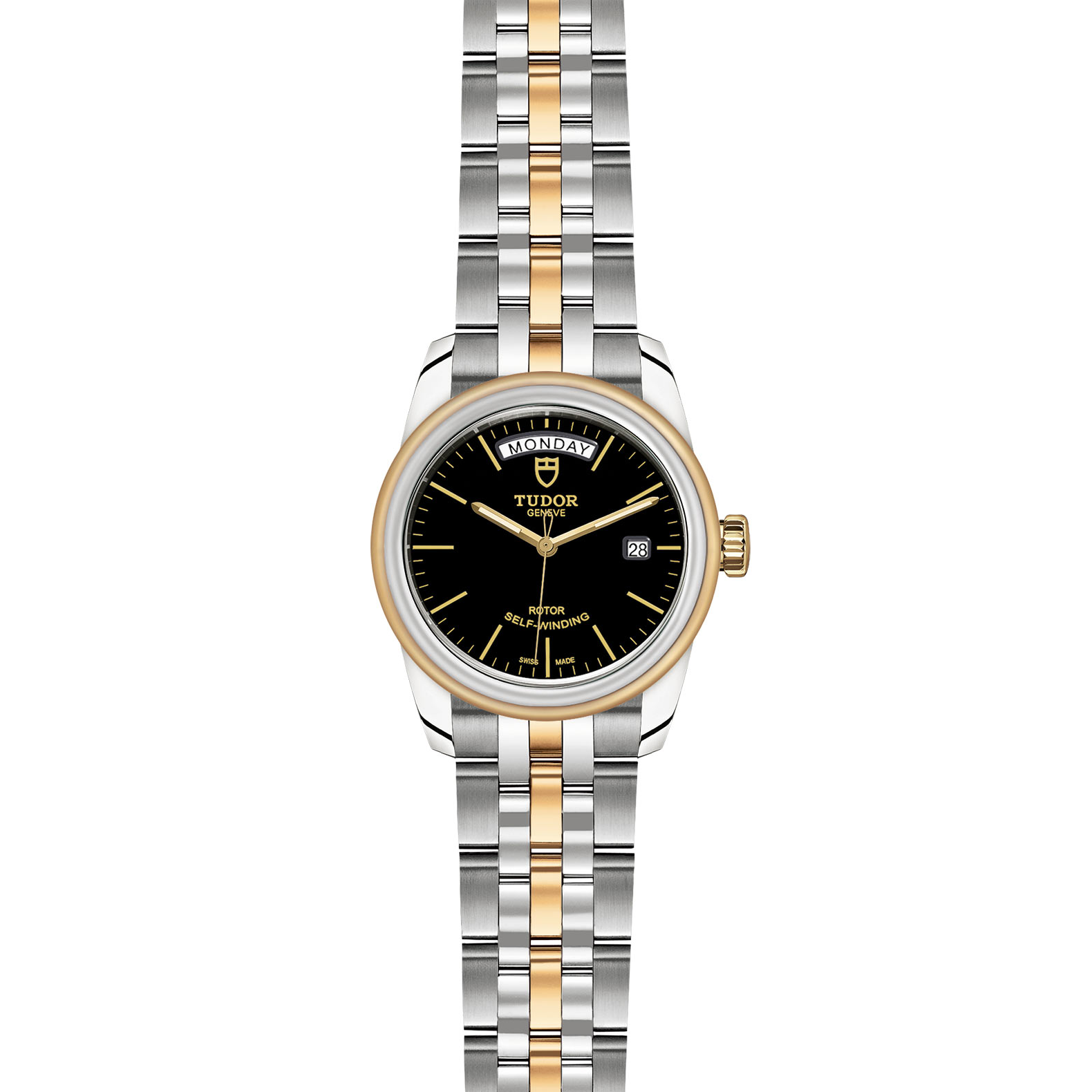 TUDOR Glamour Date Day M56003 0007 Frontfacing