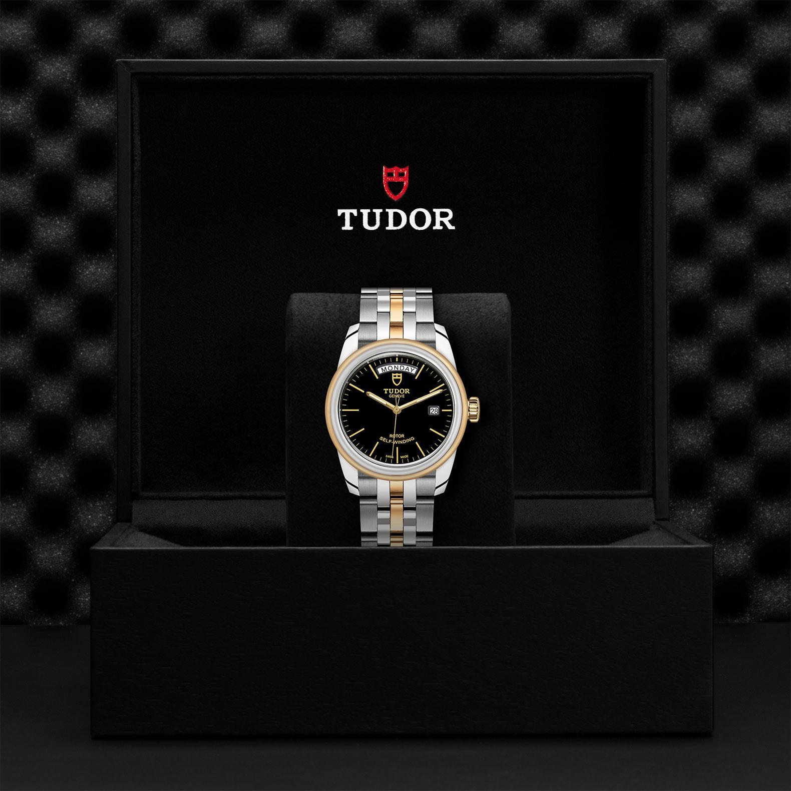 TUDOR Glamour Date Day M56003 0007 Presentationbox