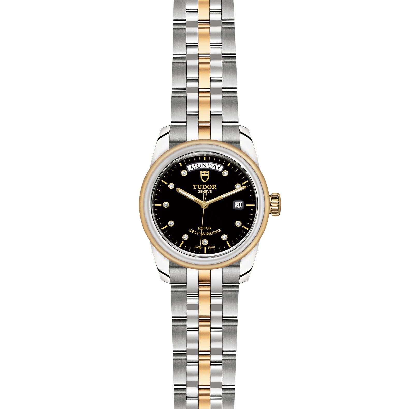 TUDOR Glamour Date Day M56003 0008 Frontfacing